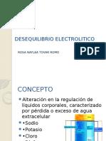 Desequilibrio Hidro-Electrolítico MIP