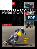 2014 Wossoner Motorcycle Pistons Catalog