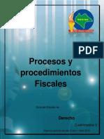 Procesos y Procedimientos Fiscales, V Ld