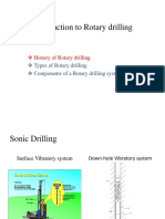 Introduction to Rotary Drilling