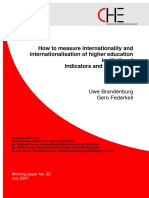 How to Measure Internationality
