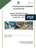 Metodos Numericos ICC-1027
