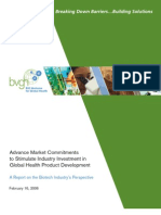 BVGH Advance Market Commitment Report