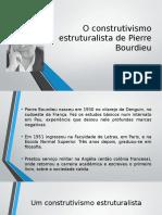 O Construtivismo Estruturalista de Pierre Bourdieu