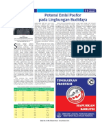 Potensi Emisi Posfor Pada Lingkungan Budidaya