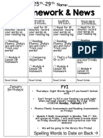 weekly homework and news 024