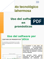 Uso Del Software en Los Pronosticos
