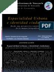 Espacialidad Urbana e Identidad Ciudadana; Desde Una Perspectiva p