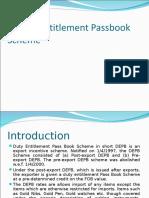 Duty Entitlement Passbook Scheme.ppt