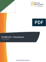 Cis Ibm Aix 7.1 Benchmark v1.1.0