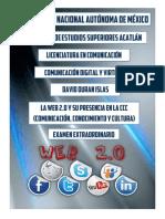 La Web 2.0 en La Comunicación, Conocimiento y Cultura.