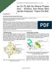 Some Differences on Py Sph Ga Mineral Phases in Hajvali Badovc Kizhnica and Artana Mine Electronic Microprobe Analyses Trepca Ore Belt Kosovo