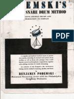 [drum] benjamin podemski - standard snare drum method.pdf