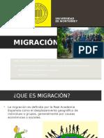 Migracion en Mexico