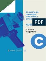 Encuesta Sobre Consumos Culturales en Argentina - Audiovisual - SINCA