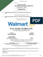 Walmart FORM 10-K