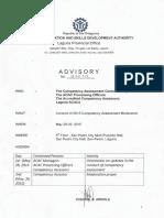 2015 Assessment Moderation