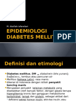 Epidemiologi Dm