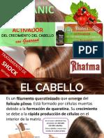 Champú con guaraná Rhatma Forte