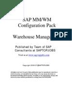 Sap MM-wm Configuration