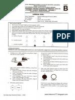 Soal UCUN IPA DKI 1 Paket B 2015-2016
