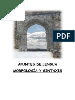 Apuntes de Lengua-morfología y Sintaxis