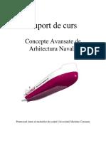 Suport de Curs - CAAN (Concepte Avansate de Arhitectura Navala)