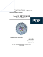 Namd Tutorial Unix 590C