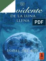 """""""La vidente de la luna llena"""", Isabel del Río (Kailas Editorial)"""