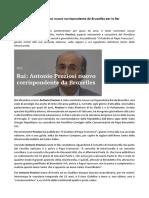 Antonio Preziosi Giornalista