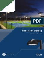 Tennis Court Lighting Brochure