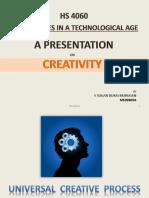 Creativity - Humanities sciences.