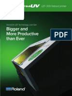 Roland VersaUV LEF-300 UV Flatbed Printer 30