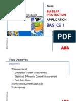 Bus bar protection basics