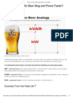 What's Common for Beer Mug and Power Factor_ _ EEP