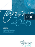 Plan Federal de Turismo - Argentina 2016