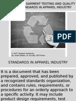 Garment Testing Standards