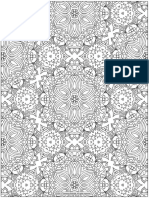 Free Abstract Pattern Coloring Page by Thaneeya Mcardle 3