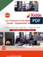 Détecteurs de fumée. 15% des Français ne sont pas équipés