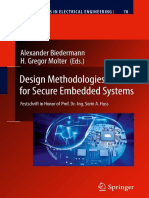 Alexander Biedermann, H. Gregor Molter - Design Methodologies for Secure Embedded Systems