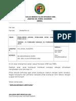 MEMO Ujian Penilaian 1 UPSR/PSRA/UPKK