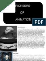 pioneers of animation presentation