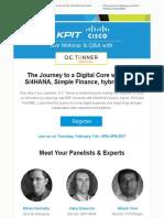KPIT Cisco OC Tanner Webinar