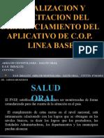Socializacion y Capacitacion Del Diligenciamiento Del Formato De cop-d modificado y fluorosis