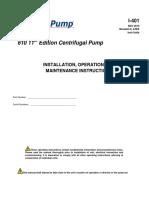 I-401 API Maxum 610 11th Edition R0