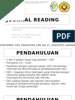 PPT Jurnal Diagnosis Banding dan Manajemen Terapi Gangguan Skizoafektif