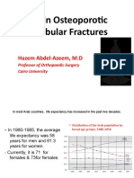 Arthroplasty in Osteoporotic Ace Tabular Fracture Dr. Hazem
