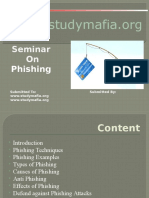 Phishing seminar report