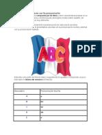 Alfabeto en Frances