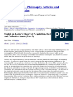 Nozick on Locke's Theory of Acquisition, the Lockean Proviso, and Collective Assets (Part 2) _ Philpropsophy - Philosophy Articles and Article Summaries Part 2.pdf